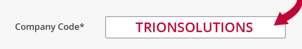 Trion Solutions company code area